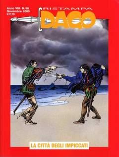 Copertina DAGO RISTAMPA n.90 - LA CITTA' DEGLI IMPICCATI, EDITORIALE AUREA