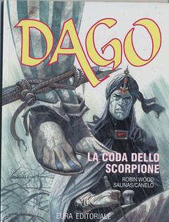 Copertina DAGO - RISTAMPA ANASTATICA n.13 - LA CODA DELLO SCORPIONE, EDITORIALE AUREA