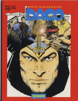 Copertina DAGO RISTAMPA n.1 - SCHIAVO, EDITORIALE AUREA