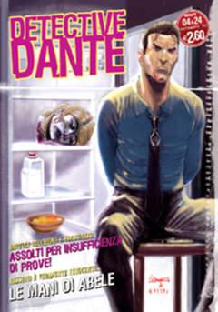Copertina DETECTIVE DANTE n.4 - MANI DI ABELE, EDITORIALE AUREA