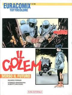 Copertina EURACOMIX n.126 - VERSO IL FUTURO, EDITORIALE AUREA