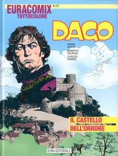 Copertina EURACOMIX n.177 - DAGO - IL CASTELLO DELL'ORRORE, EDITORIALE AUREA