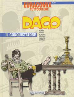 Copertina EURACOMIX n.191 - Dago - Il conquistatore, EDITORIALE AUREA