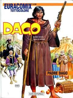Copertina EURACOMIX n.198 - Padre Dago, EDITORIALE AUREA
