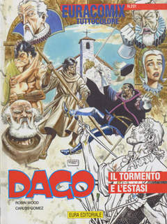 Copertina EURACOMIX n.201 - Dago - Il tormento e l'estasi, EDITORIALE AUREA