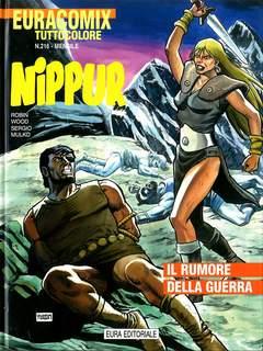 Copertina EURACOMIX n.216 - Nippur: Il rumore della guerra, EDITORIALE AUREA