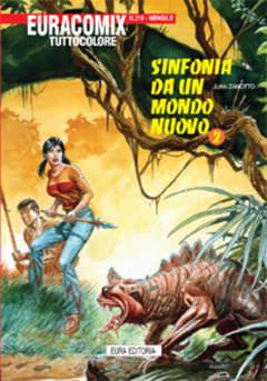 Copertina EURACOMIX n.218 - SINFONIA DA UN MONDO NUOVO, EDITORIALE AUREA