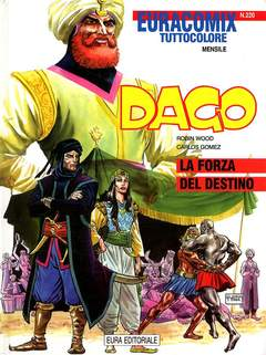 Copertina EURACOMIX n.220 - Dago - La forza del destino, EDITORIALE AUREA