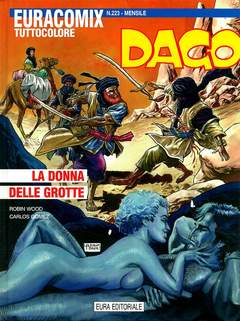 Copertina EURACOMIX n.223 - Dago - La signora delle grotte, EDITORIALE AUREA