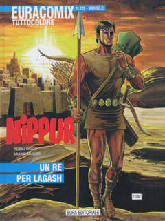 Copertina EURACOMIX n.229 - UN RE PER LAGASH, EDITORIALE AUREA