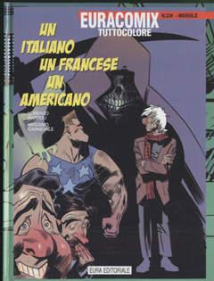 Copertina EURACOMIX n.234 - UN ITALIANO, UN FRANCESE E UN AMERICANO, EDITORIALE AUREA