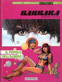 Copertina EURACOMIX n.34 - IL POPOLO DELL'ALBERO, EDITORIALE AUREA