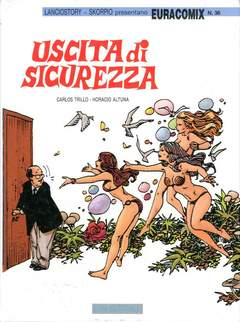 Copertina EURACOMIX n.36 - USCITA DI SICUREZZA, EDITORIALE AUREA