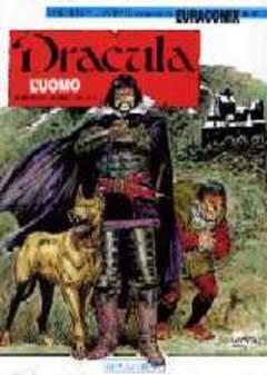 Copertina EURACOMIX n.40 - L'UOMO, EDITORIALE AUREA
