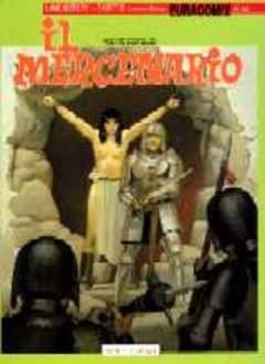 Copertina EURACOMIX n.49 - IL MERCENARIO, EDITORIALE AUREA