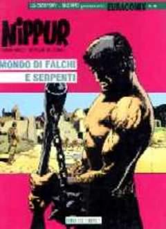 Copertina EURACOMIX n.58 - MONDO DI FALCHI E SERPENTI, EDITORIALE AUREA