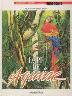 Copertina EURACOMIX SUPPLEMENTO n.29 - LOPE DE AGUIRRE, EDITORIALE AUREA