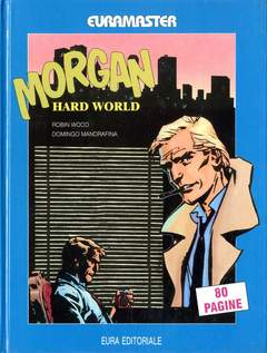 Copertina EURAMASTER n.5 - MORGAN-HARD WORLD, EDITORIALE AUREA
