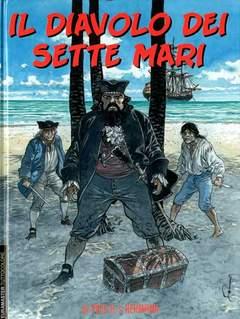 Copertina EURAMASTER TUTTOCOLORE n.107 - IL DIAVOLO DEI SETTE MARI, EDITORIALE AUREA