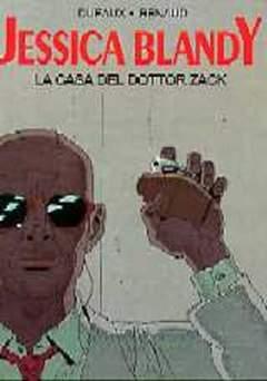 Copertina EURAMASTER TUTTOCOLORE n.7 - LA CASA DEL DOTTOR ZACK, EDITORIALE AUREA