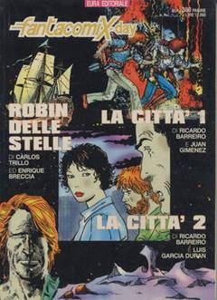 Copertina FANTACOMIX DAY n.4 - LA CITTA' - ROBIN DELLE STELLE, EDITORIALE AUREA
