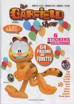Copertina GARFIELD SHOW n.10 - THE GARFIELD SHOW, EDITORIALE AUREA