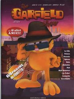 Copertina GARFIELD SHOW n.15 - THE GARFIELD SHOW, EDITORIALE AUREA
