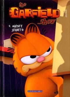 Copertina GARFIELD SHOW Cartonato n.4 - AGENTE SEGRETO, EDITORIALE AUREA