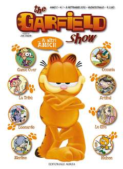 Copertina GARFIELD SHOW n.1 - THE GARFIELD SHOW, EDITORIALE AUREA