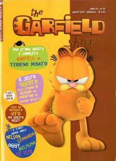 Copertina GARFIELD SHOW n.3 - THE GARFIELD SHOW, EDITORIALE AUREA