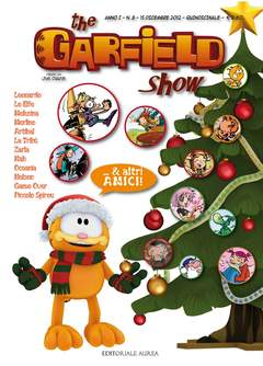 Copertina GARFIELD SHOW n.8 - THE GARFIELD SHOW, EDITORIALE AUREA