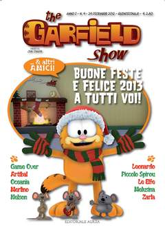 Copertina GARFIELD SHOW n.9 - THE GARFIELD SHOW, EDITORIALE AUREA