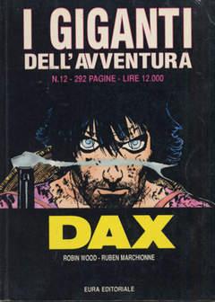 Copertina GIGANTI DELL'AVVENTURA (I) n.12 - DAX, EDITORIALE AUREA
