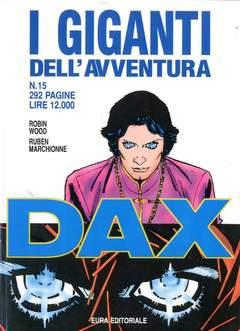 Copertina GIGANTI DELL'AVVENTURA (I) n.15 - DAX, EDITORIALE AUREA