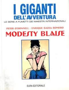 Copertina GIGANTI DELL'AVVENTURA (I) n.44 - MODESTY BLAISE, EDITORIALE AUREA