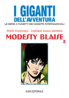 Copertina GIGANTI DELL'AVVENTURA (I) n.49 - MODESTY BLAISE, EDITORIALE AUREA