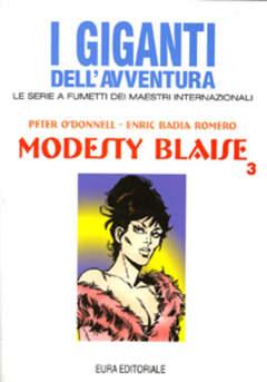 Copertina GIGANTI DELL'AVVENTURA (I) n.52 - MODESTY BLAISE, EDITORIALE AUREA