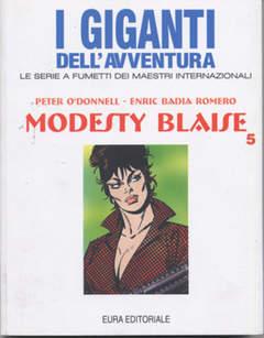 Copertina GIGANTI DELL'AVVENTURA (I) n.58 - MODESTY BLAISE, EDITORIALE AUREA
