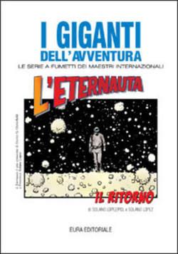Copertina GIGANTI DELL'AVVENTURA (I) n.63 - L'ETERNAUTA IL RITORNO  , EDITORIALE AUREA