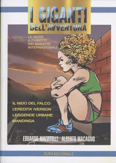 Copertina GIGANTI DELL'AVVENTURA (I) n.68 - Mazzitelli e Macagno, EDITORIALE AUREA