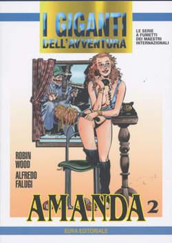 Copertina GIGANTI DELL'AVVENTURA (I) n.71 - AMANDA, EDITORIALE AUREA
