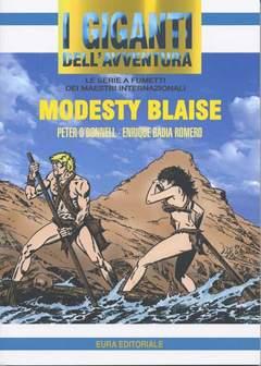 Copertina GIGANTI DELL'AVVENTURA (I) n.73 - MODESTY BLAISE, EDITORIALE AUREA