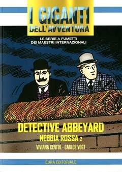 Copertina GIGANTI DELL'AVVENTURA (I) n.77 - NEBBIA ROSSA, EDITORIALE AUREA