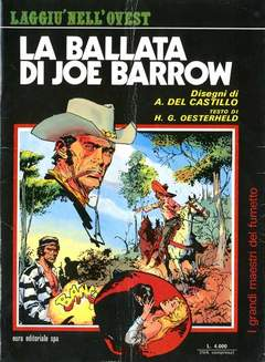 Copertina GRANDI MAESTRI DEL FUMETTO n.1 - LA BALLATA DI JOE BARROW, EDITORIALE AUREA