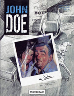 Copertina JOHN DOE n.15 - Pestilenza, EDITORIALE AUREA