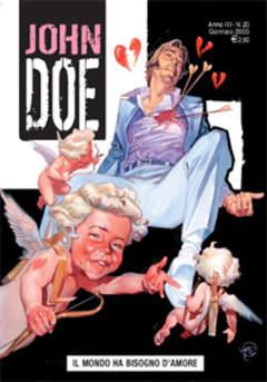 Copertina JOHN DOE n.20 - Il mondo ha bisogno d'amore, EDITORIALE AUREA