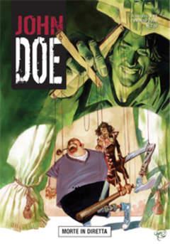 Copertina JOHN DOE n.21 - Morte in diretta, EDITORIALE AUREA