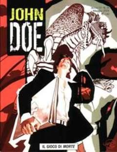 Copertina JOHN DOE n.24 - Il gioco di Morte, EDITORIALE AUREA