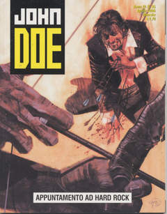 Copertina JOHN DOE n.35 - APPUNTAMENTO AD HARD-ROCK, EDITORIALE AUREA