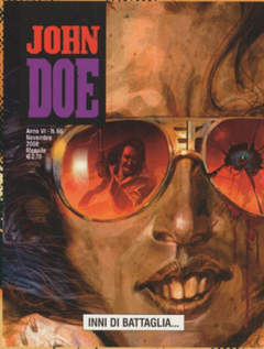 Copertina JOHN DOE n.66 - INNI DI BATTAGLIA, EDITORIALE AUREA